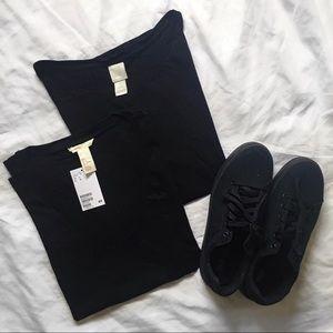 H&M Basics Tee Shirts (2)